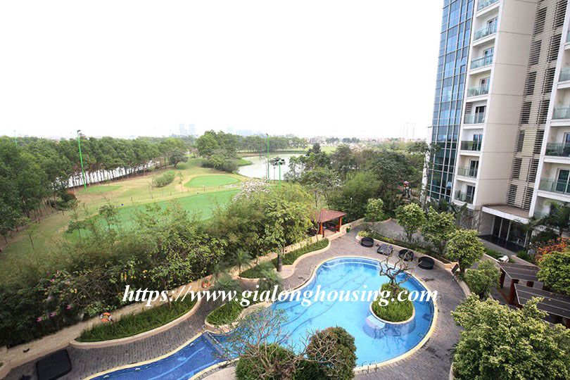 Luxurious golf court view apartment in L building, Ciputra 11