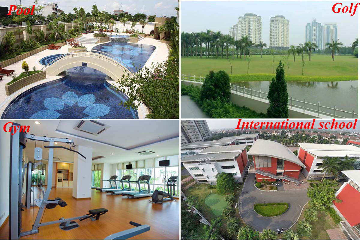 Luxurious golf court view apartment in L building, Ciputra 20