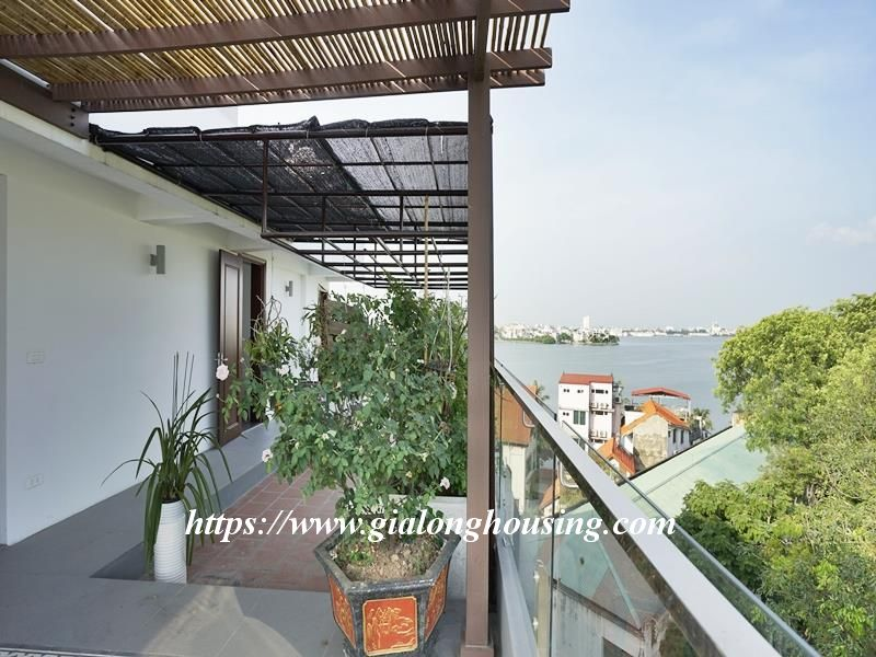 Bright duplex serviced apartment in Vong Thi for rent 19