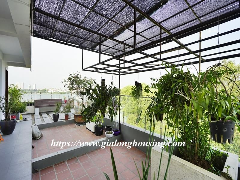 Bright duplex serviced apartment in Vong Thi for rent 20