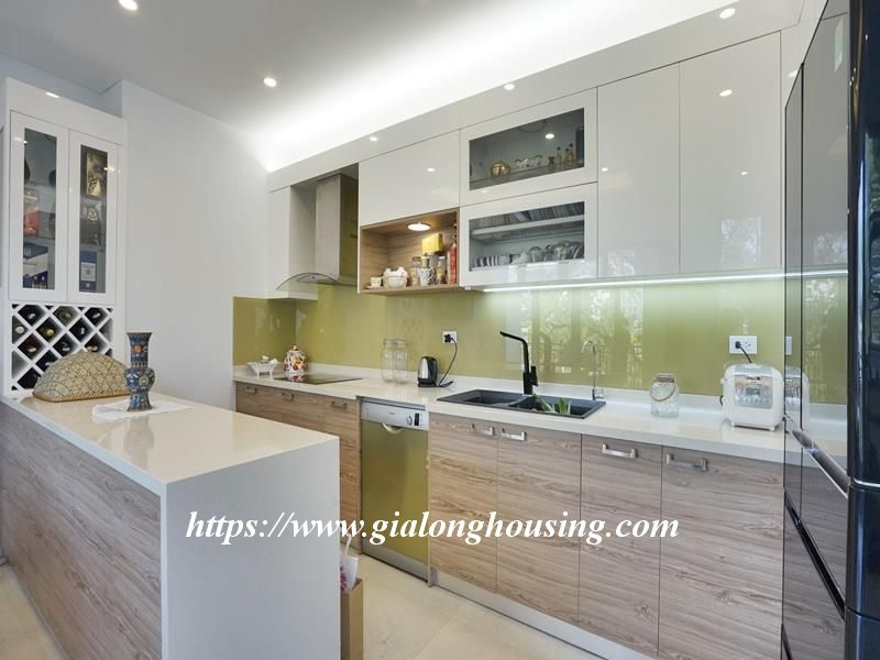 Bright duplex serviced apartment in Vong Thi for rent 4