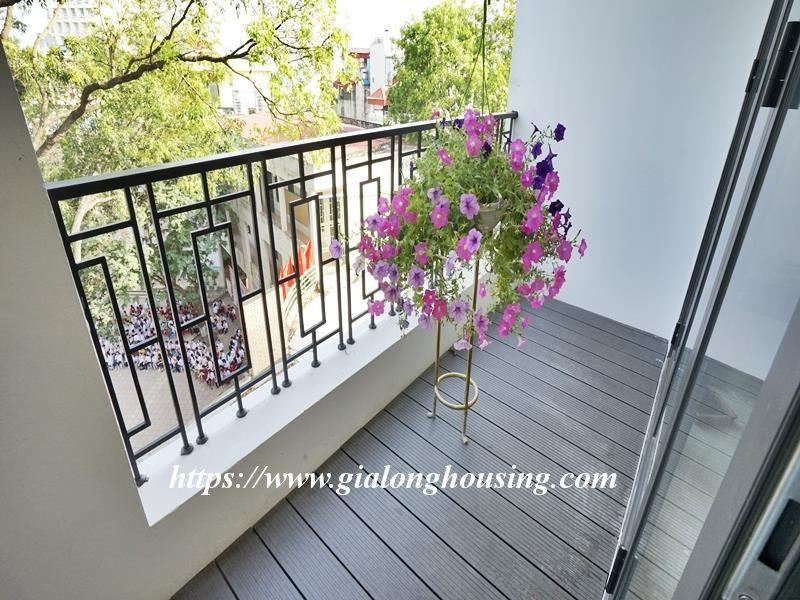 Bright duplex serviced apartment in Vong Thi for rent 6