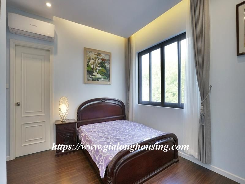 Bright duplex serviced apartment in Vong Thi for rent 8