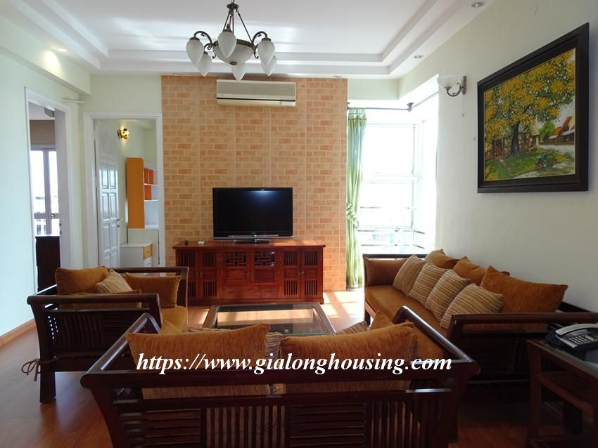 Nice and furnished apartment in G2 building, Ciputra 13