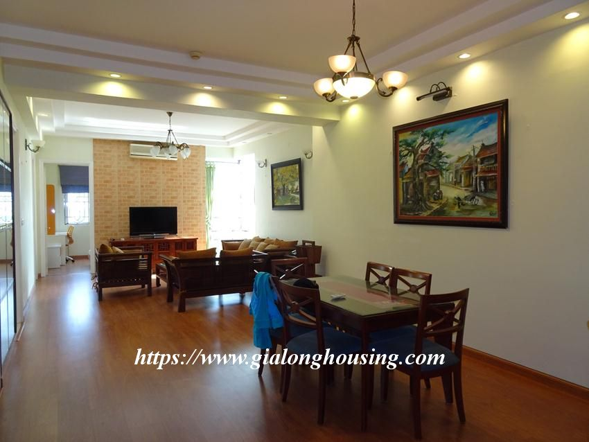 Nice and furnished apartment in G2 building, Ciputra 14