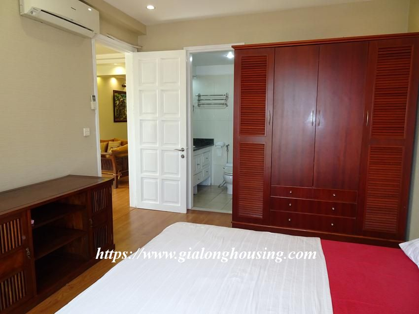 Nice and furnished apartment in G2 building, Ciputra 6