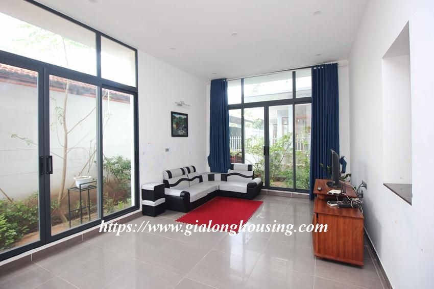 Beautiful garden house in Thuy Khue for rent 7