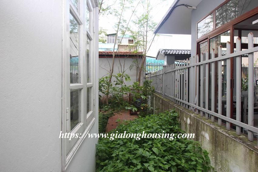 Beautiful garden house in Thuy Khue for rent 1