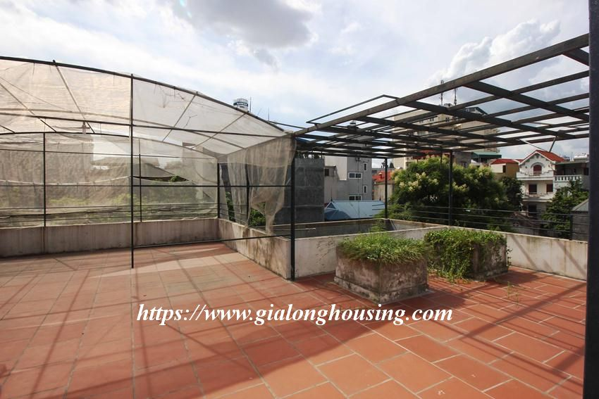 Beautiful garden house in Thuy Khue for rent 16