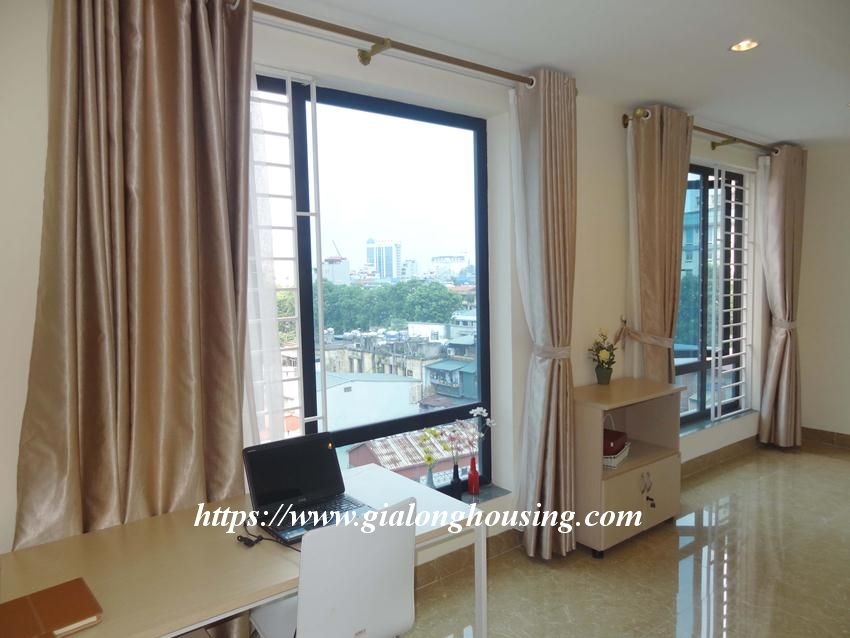 Brand new one bedroom apartment in Giang Vo for rent 10