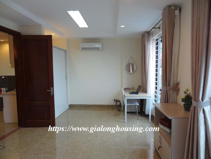 Brand new one bedroom apartment in Giang Vo for rent 11