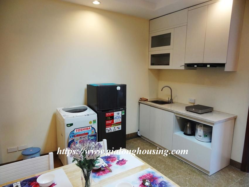 Brand new one bedroom apartment in Giang Vo for rent 5