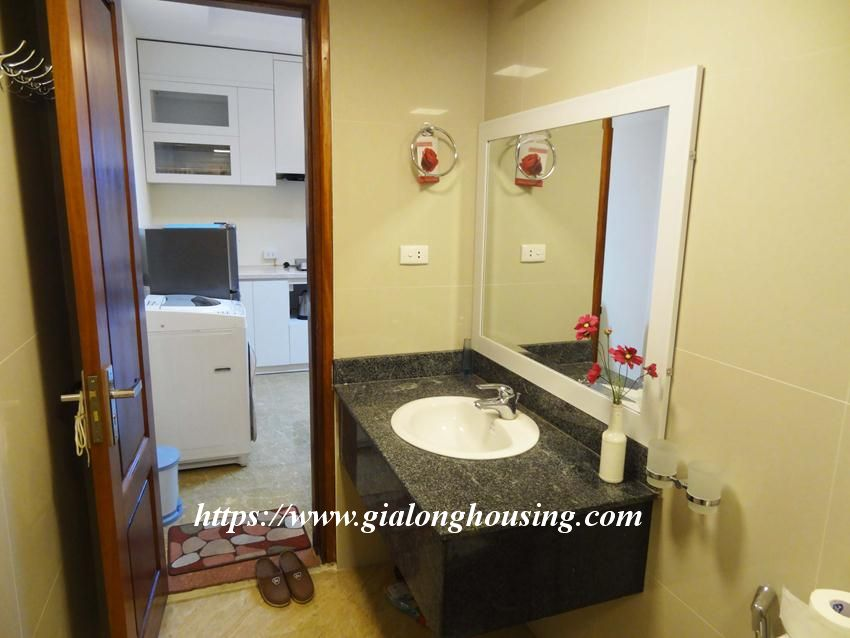 Brand new one bedroom apartment in Giang Vo for rent 8