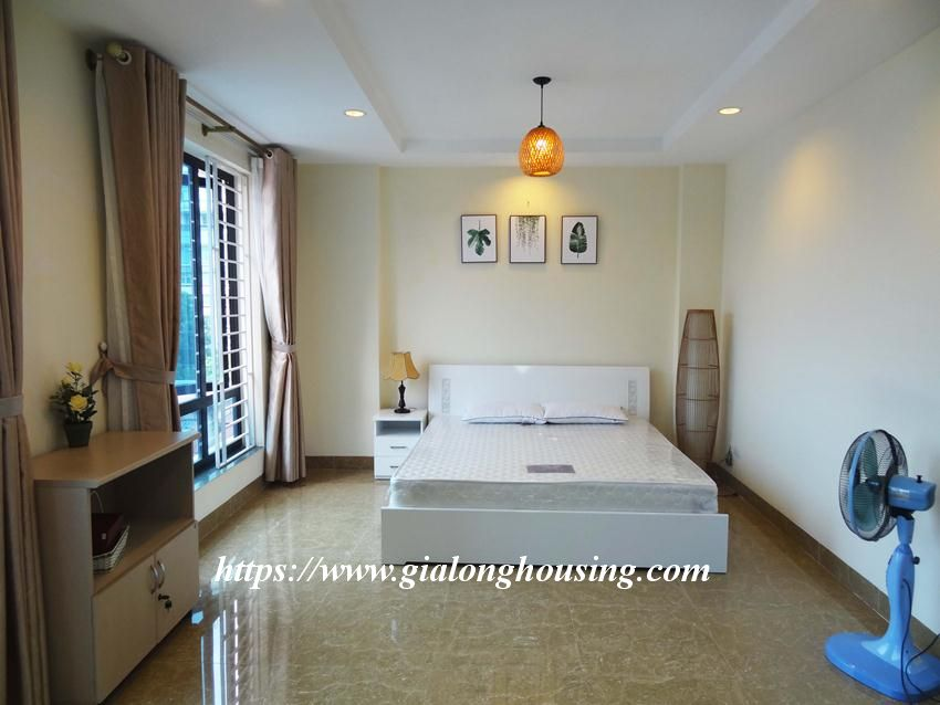 Brand new one bedroom apartment in Giang Vo for rent 9