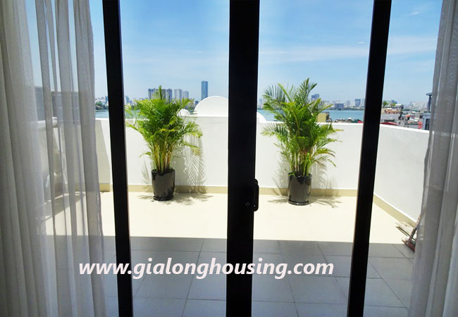 02 bedroom apartment for rent in Yen Phu village,large balcony 7