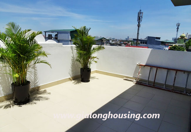 02 bedroom apartment for rent in Yen Phu village,large balcony 8