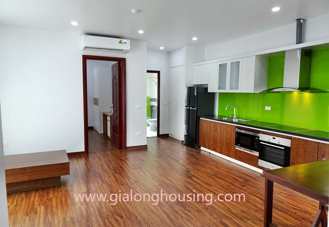 Brand new apartment for rent in Tay Ho district,big balcony 1