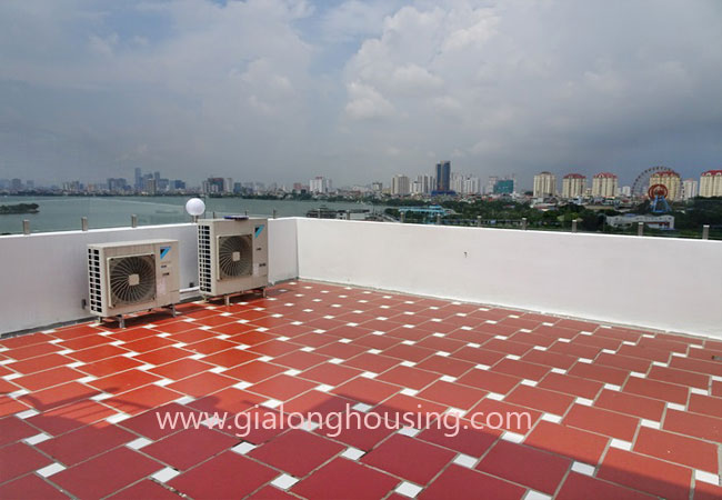 Brand new apartment for rent in Tay Ho district,big balcony 7