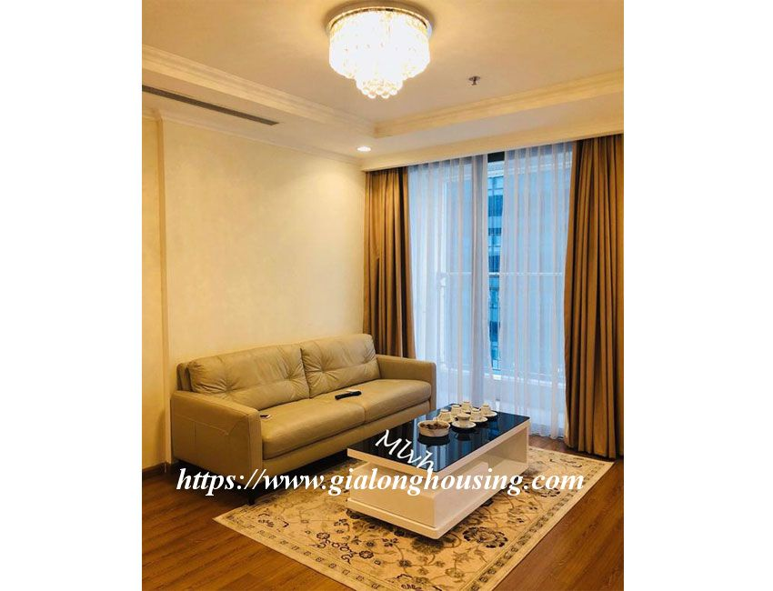 2 bedroom furnished apartment in Vinhomes, Nguyen Chi Thanh street 2