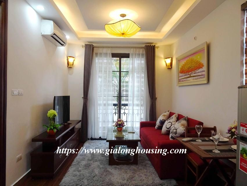 One bedroom apartment in lane 12, Dao Tan street for rent 1