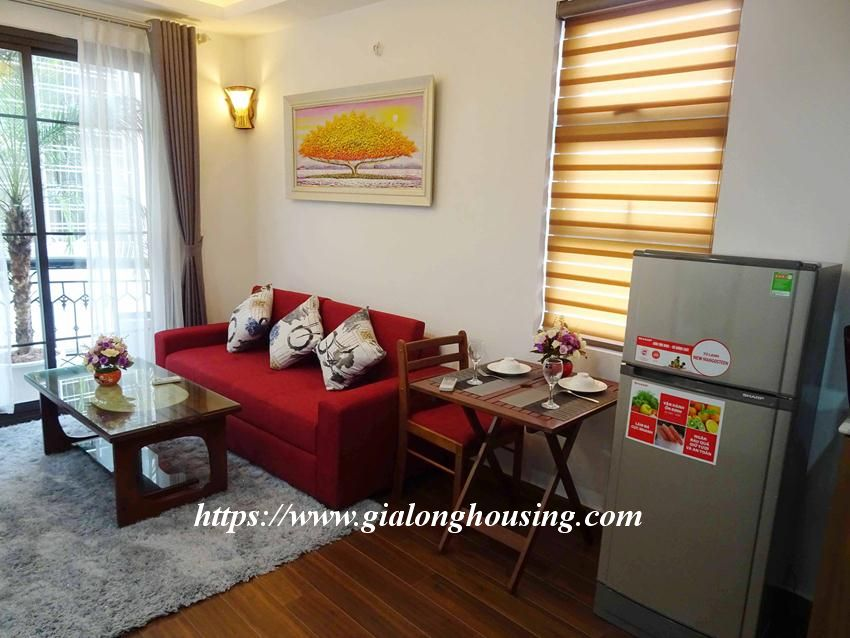 One bedroom apartment in lane 12, Dao Tan street for rent 2