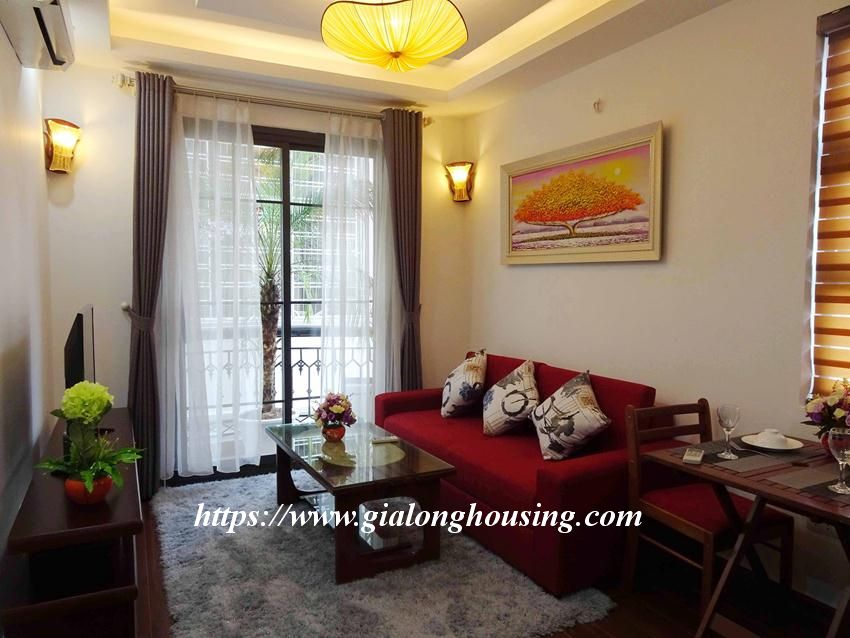 One bedroom apartment in lane 12, Dao Tan street for rent 3