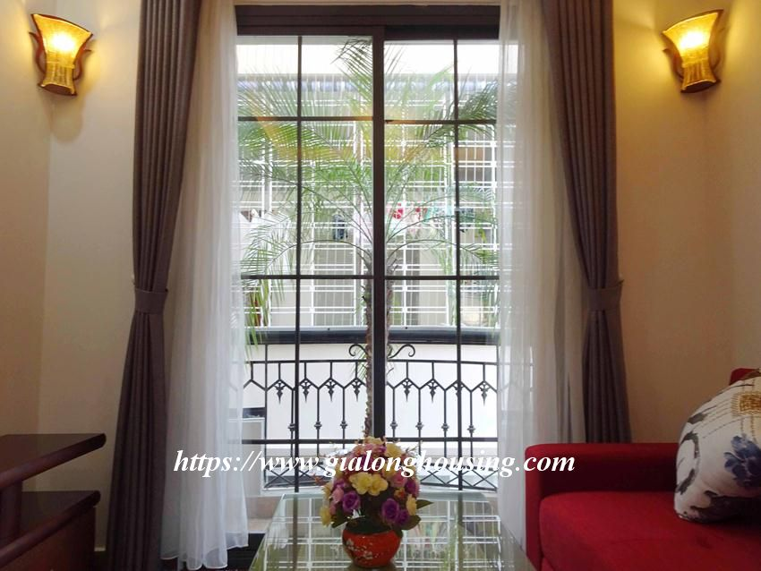 One bedroom apartment in lane 12, Dao Tan street for rent 6