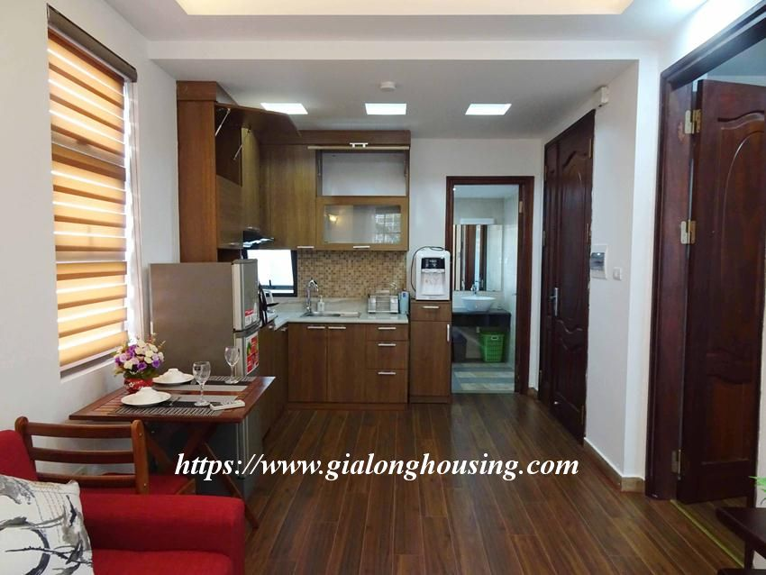 One bedroom apartment in lane 12, Dao Tan street for rent 7