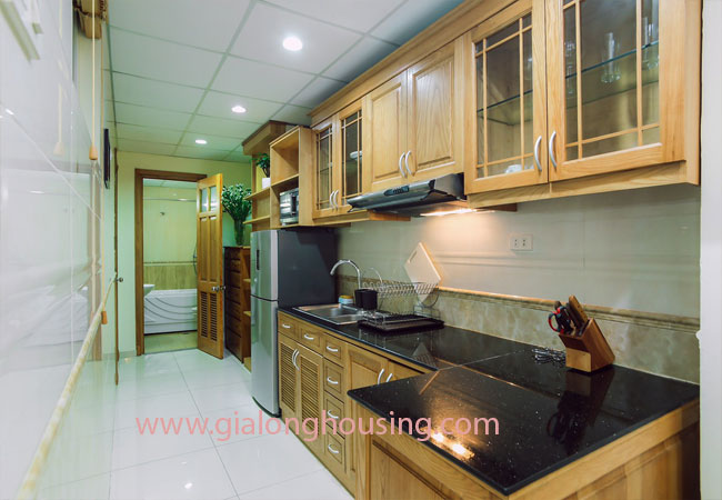 Apartment for rent in KIm Ma street, ba Dinh district 4
