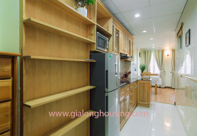 Apartment for rent in KIm Ma street, ba Dinh district 6