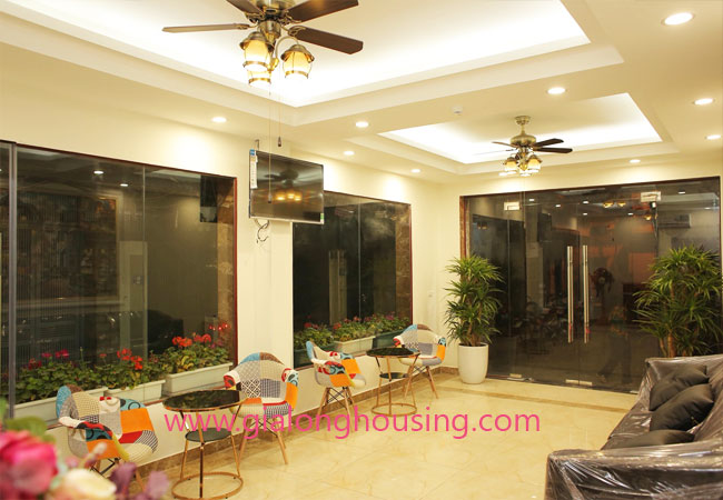 01 bedroom apartment for rent in Dao Tan street, Ba Dinh district 4