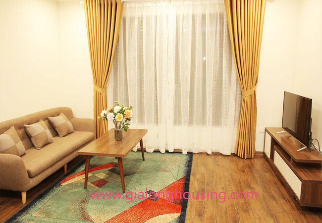 01 bedroom apartment for rent in Dao Tan street, Ba Dinh district 6