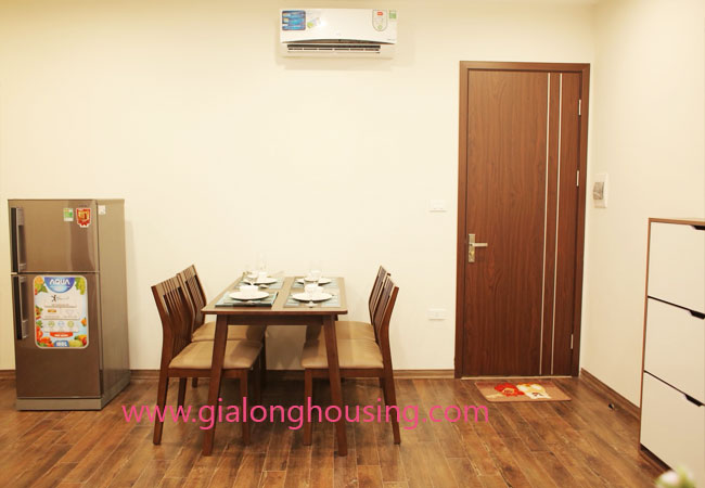 01 bedroom apartment for rent in Dao Tan street, Ba Dinh district 9