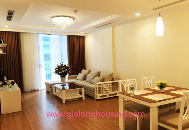 Modern 2 bedroom apartment in Vinhomes Nguyen Chi Thanh Hanoi 1