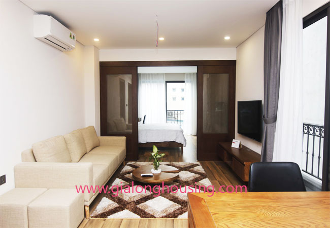 Serviced apartment for rent in Van Bao street, Ba Dinh district 1