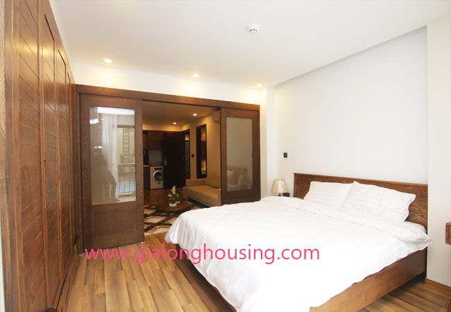 Serviced apartment for rent in Van Bao street, Ba Dinh district 7