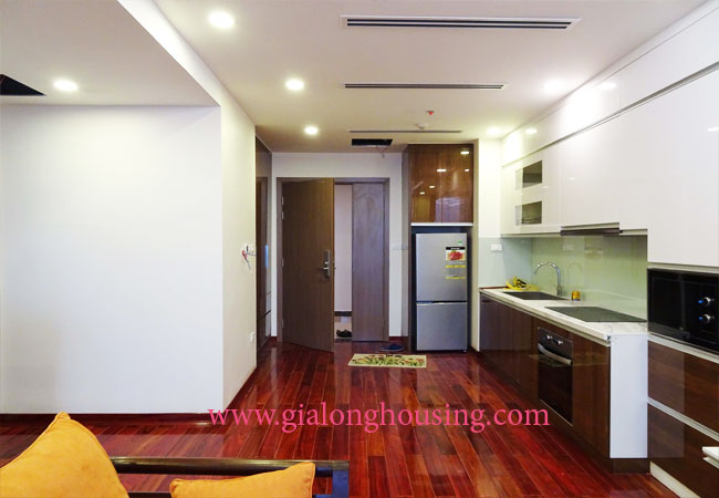 One bedroom apartment for rent in Vinhomes Metropolis 3