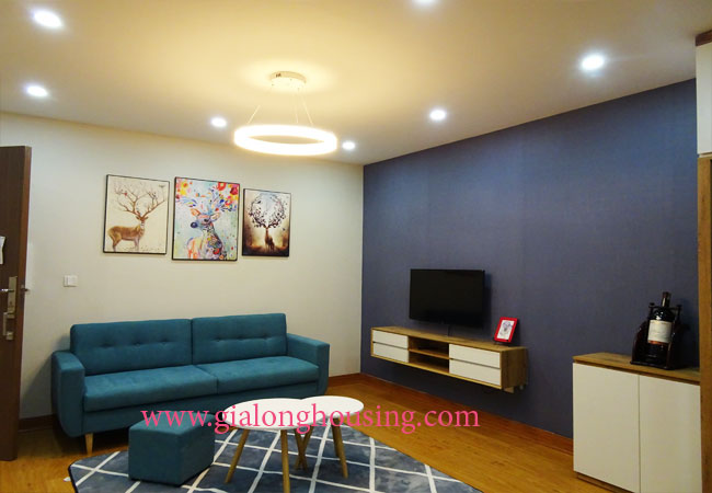 Beautiful 02 bedroom apartment on high floor at L3 Ciputra 3