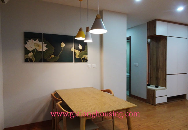 Beautiful 02 bedroom apartment on high floor at L3 Ciputra 4