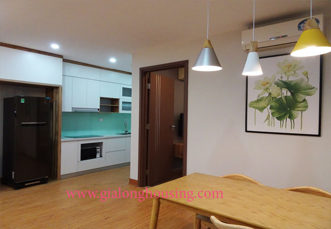 Beautiful 02 bedroom apartment on high floor at L3 Ciputra 5