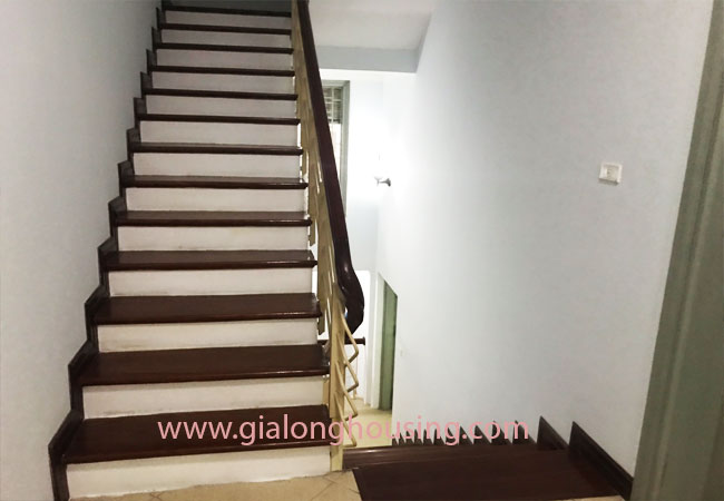 5 bedroom house for rent in Xuan La street, court yard 12