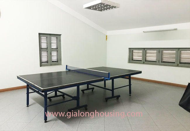 5 bedroom house for rent in Xuan La street, court yard 16