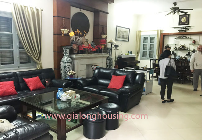 5 bedroom house for rent in Xuan La street, court yard 5