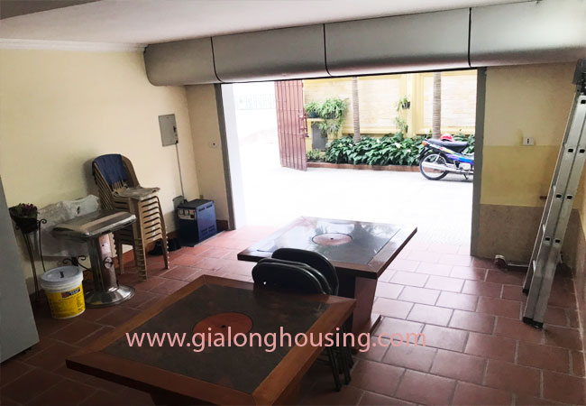 5 bedroom house for rent in Xuan La street, court yard 6