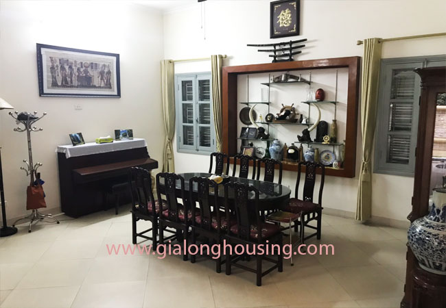 5 bedroom house for rent in Xuan La street, court yard 8