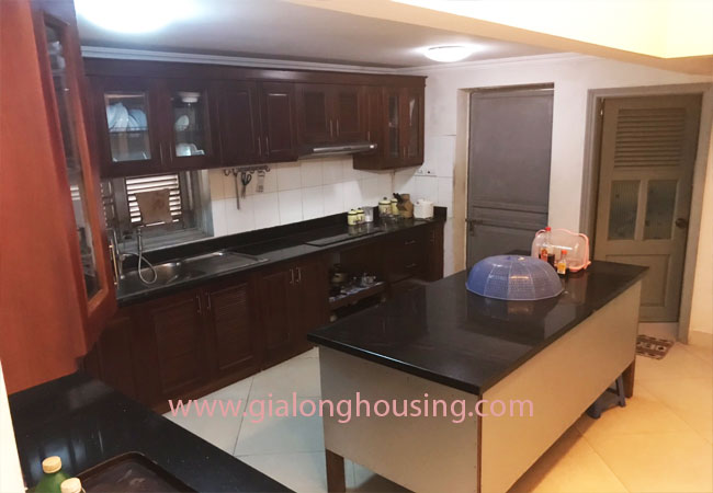 5 bedroom house for rent in Xuan La street, court yard 9