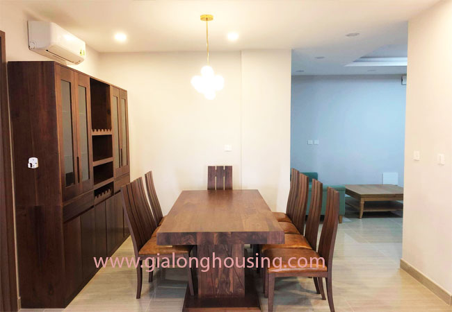 Big size 3 bedroom apartment for rent in L3 building Ciputra 5