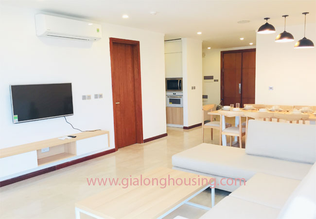Three bedroom apartment for rent in L1 building, Ciputra 1