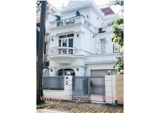 Nice furnished villa for rent in Block T4 Ciputra Hanoi 1