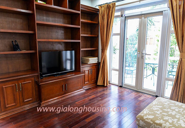 Nice furnished villa for rent in Block T4 Ciputra Hanoi 11